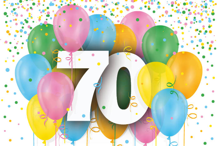 Join our 70th show birthday party!